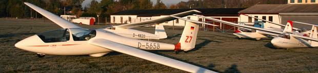 Unser Segelflugzeugpark